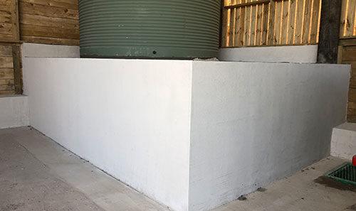 Block and Plaster Rockcote Render